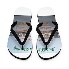 Old Irish Blessing #4 Flip Flops