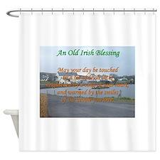 Old Irish Blessing #4 Shower Curtain