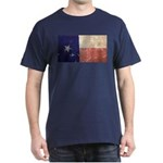 Texas State Flag Dark Vintage T-Shirt