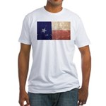 Texas State Flag Fitted T-Shirt