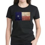 Texas State Flag Women's Dark T-Shirt