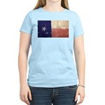 Texas State Flag Women's Light T-Shirt