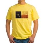Texas State Flag Yellow T-Shirt