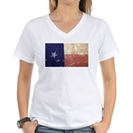 Texas State Flag Women's V-Neck T-Shirt