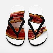 Möbius Bacon Strip Flip Flops