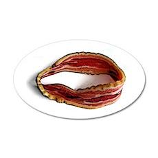 Möbius Bacon Strip Wall Decal