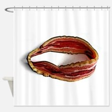 Möbius Bacon Strip Shower Curtain