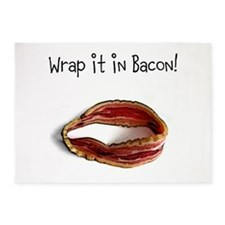 wrap it in bacon 5'x7'Area Rug