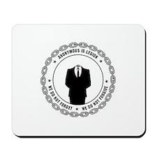 anonymoussealwithchain Mousepad
