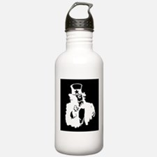 Guy Fawkes as Uncle Sam Inverted Water Bottle