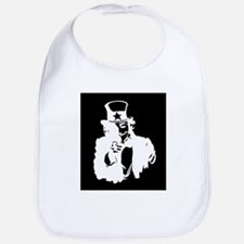 Guy Fawkes as Uncle Sam Inverted Bib