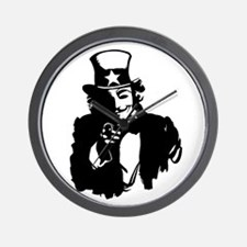 Guy Fawkes as Uncle Sam Wall Clock
