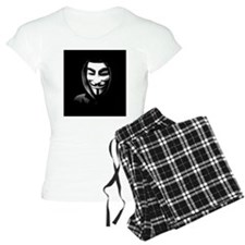 Guy Fawkes in a Sweatshirt Pajamas