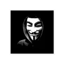 Guy Fawkes in a Sweatshirt Sticker