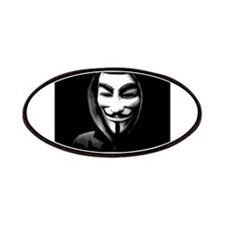 Guy Fawkes in a Sweatshirt Patches