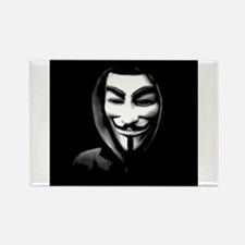 Guy Fawkes in a Sweatshirt Magnets