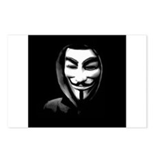 Guy Fawkes in a Sweatshirt Postcards (Package of 8