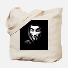 Guy Fawkes in a Sweatshirt Tote Bag