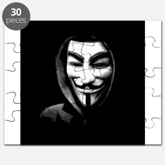 Guy Fawkes in a Sweatshirt Puzzle