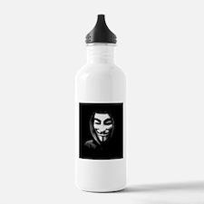 Guy Fawkes in a Sweatshirt Water Bottle