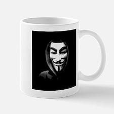 Guy Fawkes in a Sweatshirt Mugs