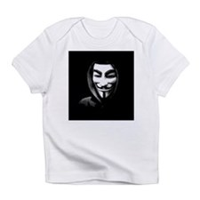 Guy Fawkes in a Sweatshirt Infant T-Shirt