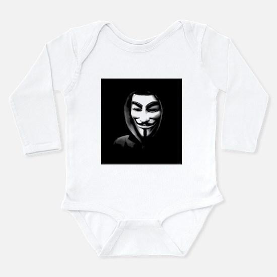 Guy Fawkes in a Sweatshirt Body Suit