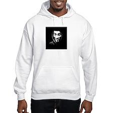 Guy Fawkes in a Sweatshirt Hoodie