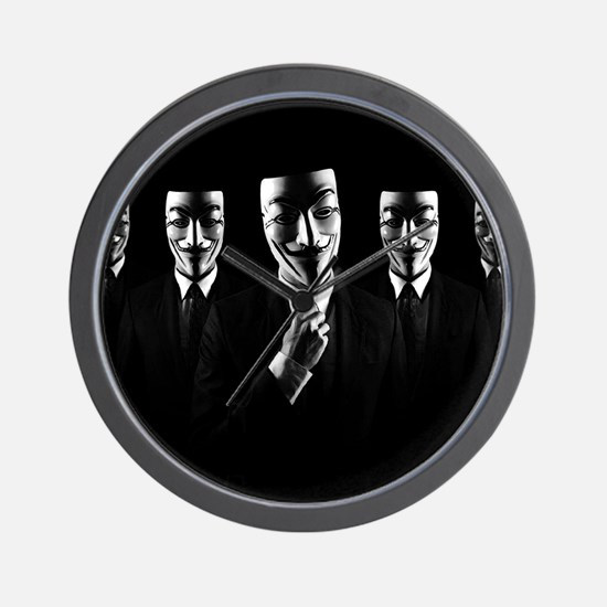We are anonymous Wall Clock