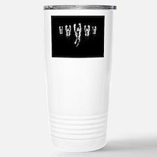We are anonymous Travel Mug