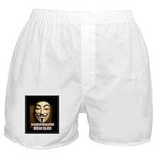 In case of revolution, break glass. Boxer Shorts