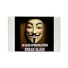 In case of revolution, break glass. Magnets