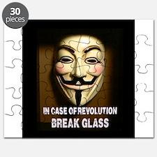 In case of revolution, break glass. Puzzle