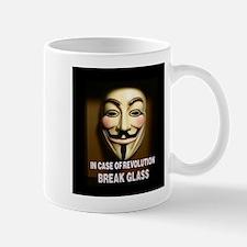 In case of revolution, break glass. Mugs