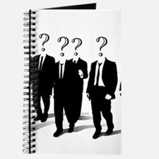 Suits with question marks as heads Journal