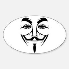 Guy Fawkes Stencil Decal