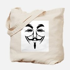 Guy Fawkes Stencil Tote Bag