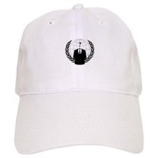 Anonymous Seal Baseball Baseball Cap