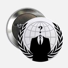 """Anonymous Seal 2.25"""" Button"""