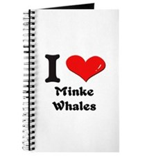 I love minke whales Journal