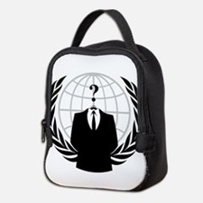 Anonymous Seal Neoprene Lunch Bag