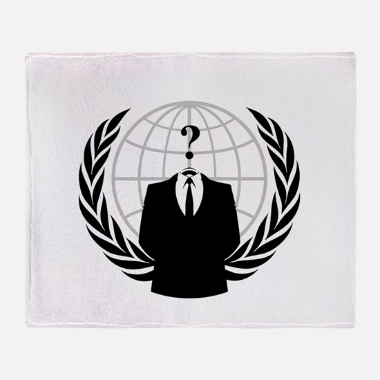 Anonymous Seal Throw Blanket