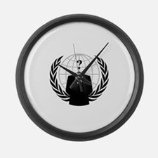 Anonymous Seal Large Wall Clock
