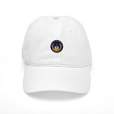 AnonymousSealBlueGold Baseball Baseball Cap