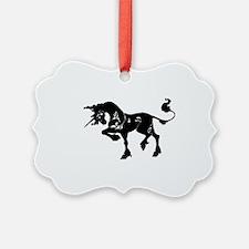 Filigree Unicorn Ornament