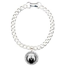 Anonymiss seal with words around the edge Bracelet
