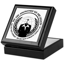 Anonymiss seal with words around the edge Keepsake