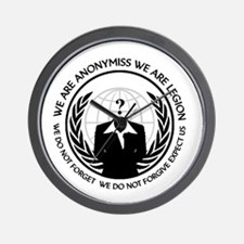 Anonymiss seal with words around the edge Wall Clo