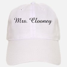 Mrs. Clooney Baseball Baseball Cap