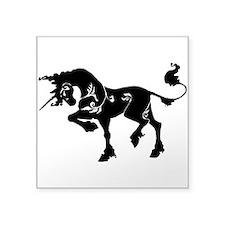 Filigree Unicorn Sticker